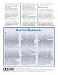 Dolby Digital - R.S. Engineering and Manufacturing - Page 4