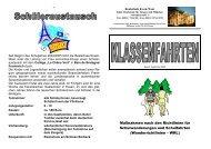 Informationsfaltblatt zum Thema Klassenfahrten - Realschule Essen ...