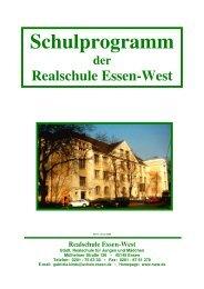 KF Schulprogramm 2008-08 - Realschule Essen-West