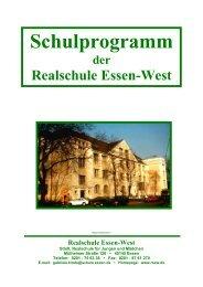 Schulprogramm der Realschule Essen-West