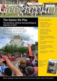 Summer - Royal Scottish Geographical Society