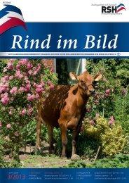 // Rind im Bild 3/2013 1 - Rinderzucht Schleswig-Holstein e.G.