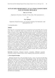 sustainable biodiversity: evaluation lessons from ... - ResearchGate