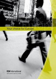 rsmiEurope_your choice_for_Europe.pdf - RSM APiK
