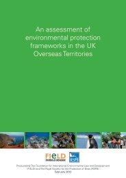 An assessment of environmental protection frameworks in ... - RSPB