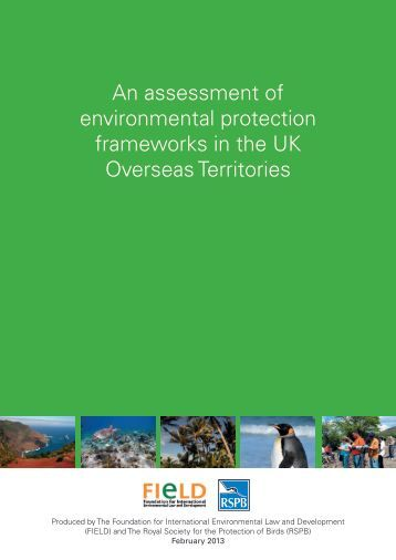 An assessment of environmental protection frameworks in ... - RSPB