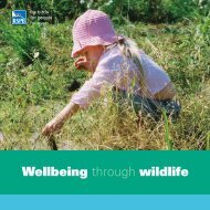Wellbeing through wildlife - RSPB