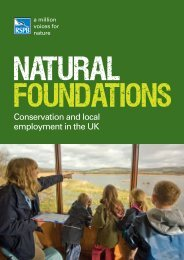 Conservation and local employment in the UK - RSPB