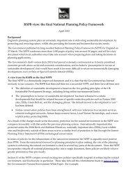 RSPB briefing on NPPF April 2012