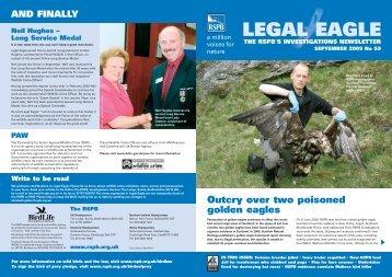 Legal Eagle 59 - RSPB