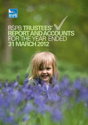 annual report and accounts 2012 - RSPB