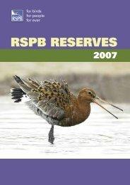 RSPB Reserves 2007