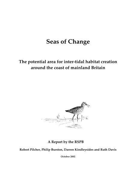 Seas of Change - RSPB