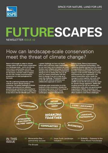 Futurescapes newsletter issue 2 - RSPB
