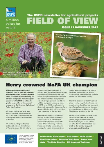 Field of View 11 - England - RSPB