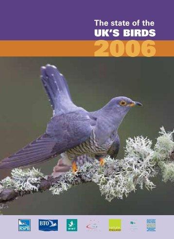 UK'S BIRDS - British Trust for Ornithology