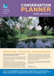 Conservation Planner issue 28 - RSPB
