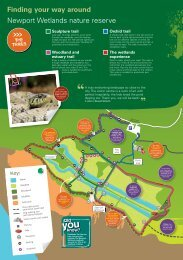 Finding your way around - RSPB