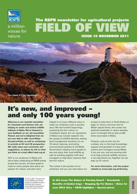 Field of View 10 - Wales - RSPB