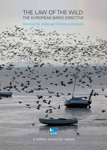 The European Birds Directive - RSPB