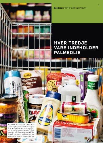 bag billigt eller økologisk hver tredje vare indeholder palmeolie