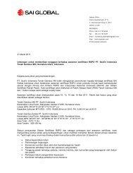 Bahasa Indonesia version - SAI Global
