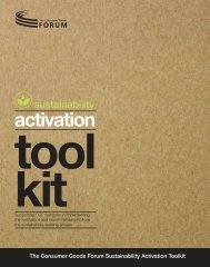 Sustainability Activation Toolkit - Roundtable on Sustainable Palm Oil