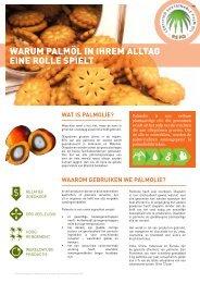 warum palmöl in ihrem alltag eine rolle spielt - Roundtable on ...