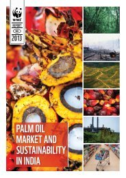 Palm Oil Market and Sustainability in India - WWF
