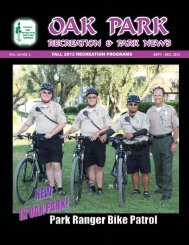 the previous brochure - Rancho Simi Recreation and Park District