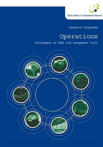 Development of SPAD Risk Management Tools - Summary ... - RSSB