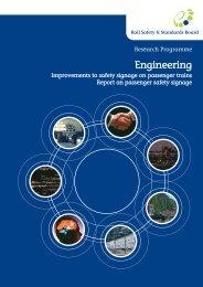 Report On Passenger Safety Signage - RSSB
