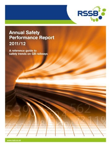 Annual Safety Performance Report 2011/12 - RSSB