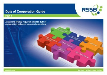 Duty of Cooperation Guide - RSSB