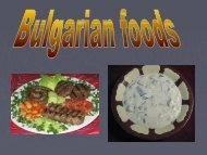 Food from Bulgaria