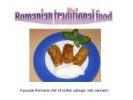Food from Romania