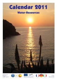 The common outcome is our H2O-Resources-CALENDAR 2011 ...