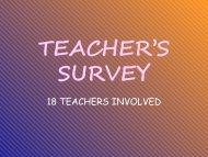 18 TEACHERS INVOLVED