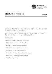 Chinese Road User Handbook - RTA