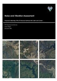 Noise and Vibration Assessment - RTA