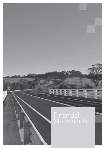 financial statements - RTA - NSW Government