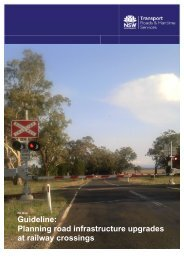 Guideline: Planning road infrastructure upgrades at railway ... - RTA