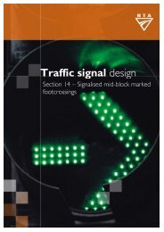 Section 14 Signalised Mid-block Marked Foot Crossings - RTA