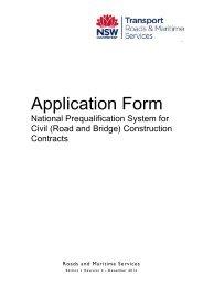 National Prequalification Scheme application form (PDF) - RTA