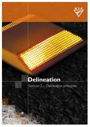 Delineation - Section 2 Delineation Principles - RTA