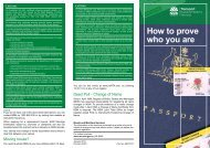Brochure - How to prove who you are - RTA