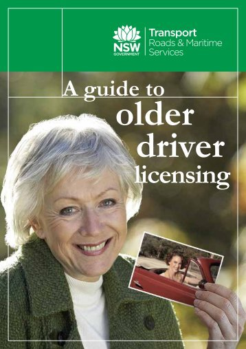 A guide to older driver licensing - RTA
