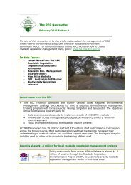 The REC newsletter - February 2012 - Edition 9 - RTA