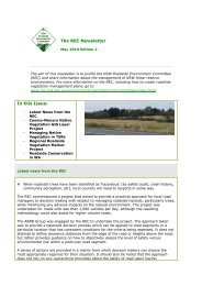 Roadside Environment Committee newsletter edition 2 - May ... - RTA