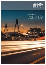 RTA Annual Report 2009 Complete - RTA - NSW Government